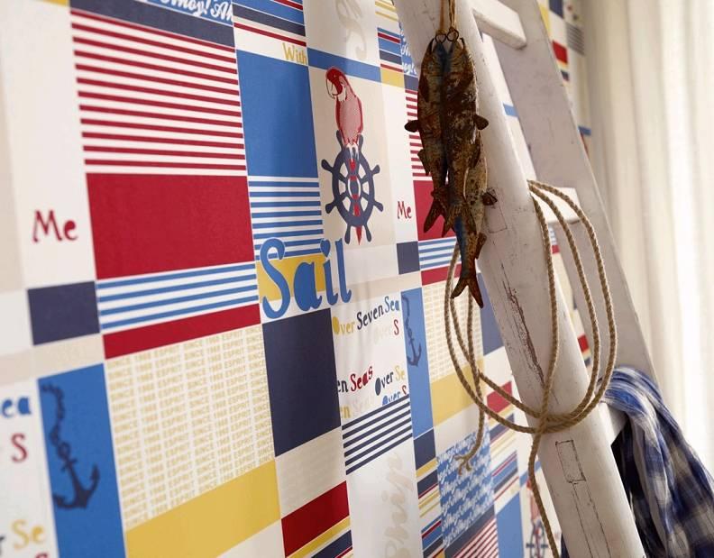b913db4a46 Detské tapety na stenu Esprit Kids 2 modrá. Esprit Kids 2. Kolekcia  zobrazuje témy farmy