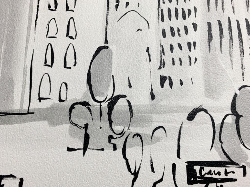 36753-2 Detská papierová tapeta na stenu Dimex výber 2020 - město ... d9f70fefee4