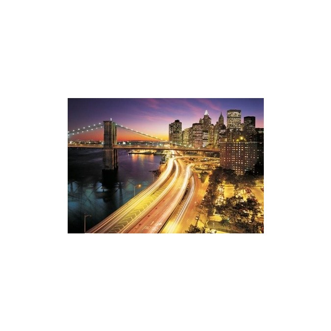NYS Lights 8-516 Fototapeta Komar New York